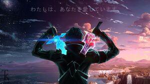 Sword Art Online Kirigaya Kazuto Anime Boys Sword Landscape 1920x1080 Wallpaper