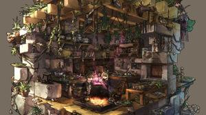 Fantasy Original Anime 1300x1300 Wallpaper