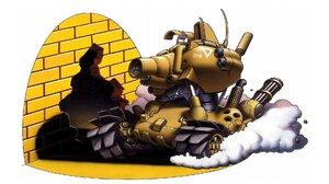 Metal Slug Video Games Tank Vehicle Video Game Art Simple Background White Background 1920x1080 Wallpaper