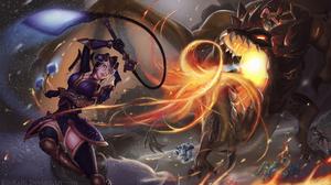 Cho 039 Gath League Of Legends Dragon Olaf League Of Legends Sejuani League Of Legends Teemo League  1920x1080 Wallpaper
