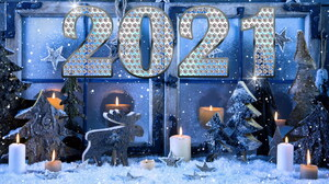 Holiday New Year 2021 1920x1200 Wallpaper