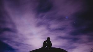 Silhouette Sky Nature 3840x2160 Wallpaper