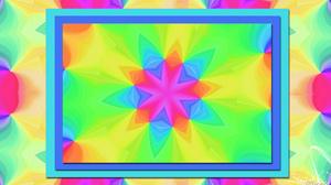 Abstract Artistic Colors Digital Art Kaleidoscope Pattern 1920x1080 Wallpaper