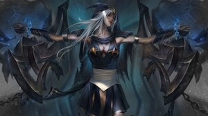 Ashe League Of Legends 3840x2688 wallpaper