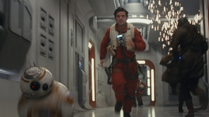 Bb 8 Oscar Isaac Poe Dameron Robot Star Wars Star Wars The Last Jedi 1920x1080 Wallpaper