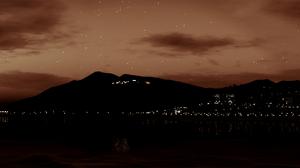 City Grand Theft Auto V Los Santos Moon 6600x1200 wallpaper