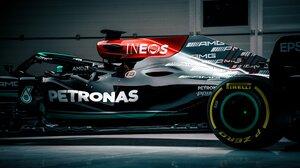 Formula 1 Mercedes AMG W12 E Car Black Cars Vehicle Race Cars Racing Motorsport Sport Sports Motorsp 4096x2732 Wallpaper