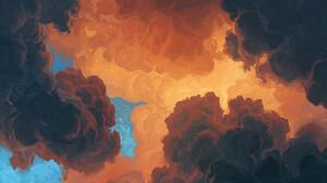Artem Chebokha Artwork Sky Clouds Nature 1538x1154 Wallpaper