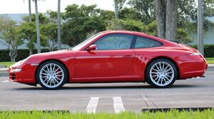 Car Porsche 911 Carrera S Red Car Sport Car 2048x1365 Wallpaper
