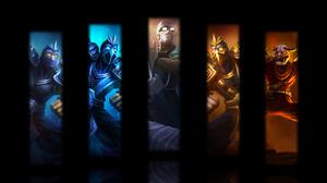 Shen League Of Legends 1600x900 Wallpaper