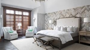 Bed Bedroom Furniture Room 2048x1366 Wallpaper