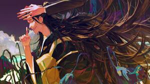 Suguru Geto Black Hair Long Hair 3840x2160 wallpaper