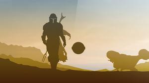 The Mandalorian Star Wars TV Series 3840x2112 wallpaper