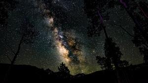 Milky Way Stars 1920x1080 Wallpaper