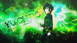 Seraph Of The End Y Ichir Hyakuya Anime Boy Weapon Sword Katana Glove Glow Green Eyes Black Hair Sho 1920x1080 Wallpaper