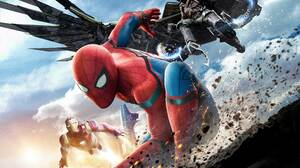 Adrian Toomes Iron Man Peter Parker Spider Man Spider Man Homecoming Tony Stark Vulture Marvel Comic 7392x5645 Wallpaper