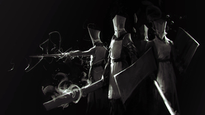 Armor Castle Crashers Knight Shield Sword Warrior 3000x1586 Wallpaper