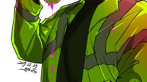 Killing Stalking Oh Sangwoo Gas Masks Christmas Anime Boys Artwork 2894x4093 Wallpaper