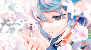 S On Digital Art Illustration Artwork Anime Girls Anime Original Characters Cherri Blossom 1920x1080 Wallpaper