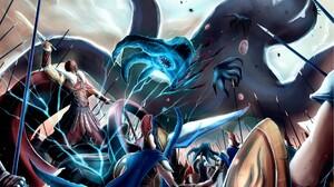 Caster Fate Zero Rider Fate Zero 1920x1200 Wallpaper