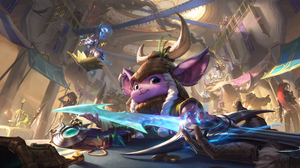 League Of Legends Yuumi League Of Legends Katarina Samira League Of Legends Vi League Of Legends Aat 3840x2160 Wallpaper