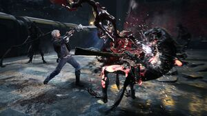 Nero Devil May Cry 3840x2160 wallpaper