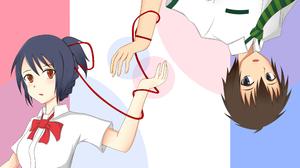 Kimi No Na Wa Mitsuha Miyamizu Taki Tachibana 3507x2480 wallpaper
