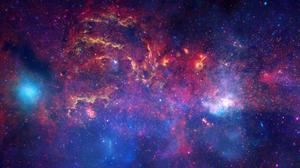 Hubble Space Stars Hubble Deep Field NASA Universe 3840x2160 Wallpaper
