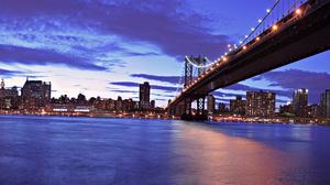 Manhattan Bridge New York 1920x1080 Wallpaper