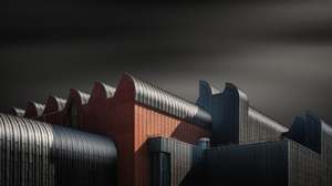Architecture Building Photography Museum Cologne Germany Long Exposure Blurred Industrial Shadow 1600x900 Wallpaper