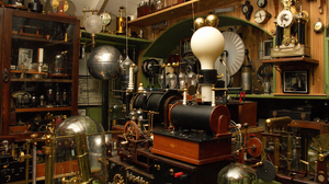 Inventions Outdated Photography Science Workshop 1920x1200 Wallpaper