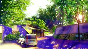 Car Street Sunshine 2000x1333 Wallpaper