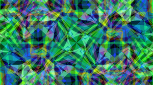 Blue Colorful Colors Green Pattern Shapes 1920x1080 wallpaper