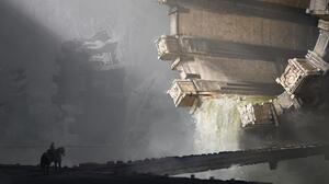 Sci Fi Building 4500x1868 Wallpaper