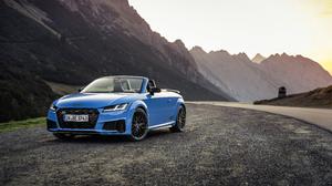 Audi Audi Tt Audi Tts Competition Plus Blue Car Cabriolet Car Sport Car 3840x2160 Wallpaper