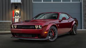 Dodge Challenger Srt Muscle Car Red Car 3000x2000 Wallpaper