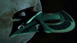 Ship Space Science Fiction Vehicle Planet CGi Render Digital Art Spaceship 1920x1080 Wallpaper