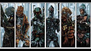 4 Lom Star Wars Boba Fett Bossk Star Wars Bounty Hunter Dengar Star Wars Ig 88 Star Wars Zuckuss Sta 1920x1080 Wallpaper
