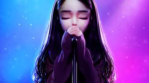 SHiN MiN JEONG CGi Digital Art 3D Frontal View Artwork ArtStation 2000x2000 Wallpaper