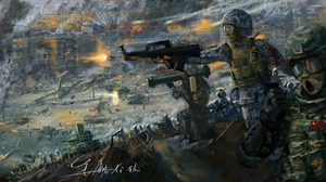 Military Artistic 2120x1082 wallpaper