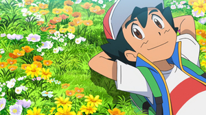 Ash Ketchum Boy Brown Eyes Pokemon 2048x1127 Wallpaper
