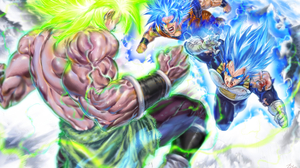 Dragon Ball Super Broly Gogeta Dragon Ball Super Saiyan Blue Wallpaper Resolution 3724x2160 Id 1114042 Wallha Com