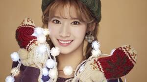 K Pop K Pop Twice Women Asian Singer Christmas Warm Colors Twice Sana 3000x2000 Wallpaper