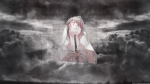 Gun Original Anime Red Eyes 3840x2160 Wallpaper