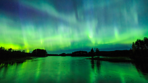 Earth Aurora Borealis 4000x2667 wallpaper