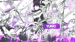 Black Clover Collage Manga Comics Yuno 1920x1080 Wallpaper