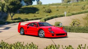 Red Car 4096x2160 wallpaper