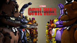 Captain America Civil War Five Nights At Freddy 039 S 4000x2250 Wallpaper