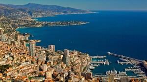 City Landscape Monaco Ocean 2560x1600 wallpaper