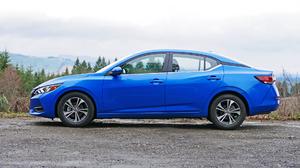Blue Car Car Compact Car Nissan Nissan Sentra 1920x1080 Wallpaper